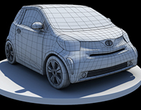 Toyota IQ - 3d model free download