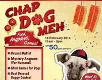 Poster Design :: SPCA Chap Dog Meh
