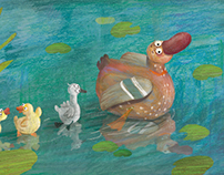 The Gray Baby Duck (For OXFORD UNIVERSITY PRESS)