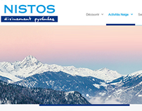 Nistos Resort website