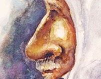 The Arabian Man with the White Keffiyeh - 2014