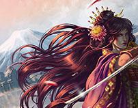 Yukiko - (tribute for Oniba: Swords of the Demon)