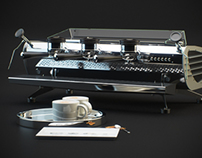 3D Product Visualisation | La Marzocco Mistral