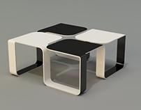 SUN coffee table concept.