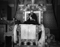 India - 14th Dalai Lama visits Tabo Village