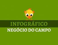 Infográfico - Negócio do Campo