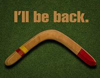 Boomerang card   Boomerang: I'll be back