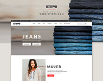 STIRPE Website Design