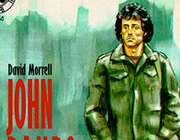 John Rambo, First Blood, The Pulp Cover