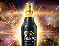 NEW GUINNESS BOTTLE CAMPAIGN