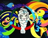 Student Work; Mural Painting  2014 /Tmsa