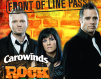Carowinds Rock the Park - Front in Line Pass