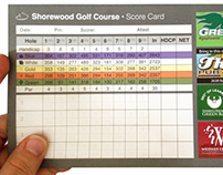 Score Card | Shorewood Golf Course