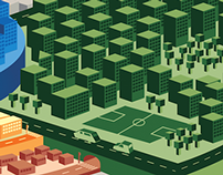 the infographic city
