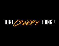 """That Creepy Thing"" - Web Design"