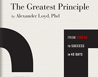"""The Greatest Principle"" Book Cover Designs"