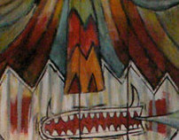 Lizard Lounge Mural
