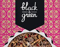 "Tea ""Black&Green"""