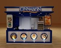 Cinnabon Booth 3x3