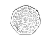WWF 50 Pence