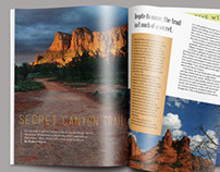 Recreation of Arizona Highways Magazine
