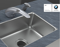 BMW Kitchen Sink Set