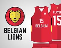Belgian Lions - Basketball National Team