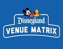 Disneyland Venue Matrix Event Logo