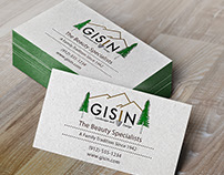 Gisin Landscaping and Design Rebranding