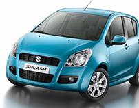 Suzuki Splash CGI