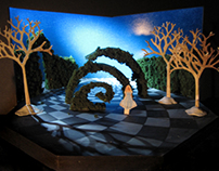 "Conceptual Scenic Design for ""Alice in Wonderland"""