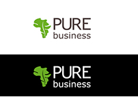 Pure business visual identity