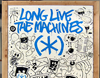 "Speck Products ""Long Live The Machines"""