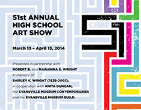 Evansville Museum 51st High School Art Show Exhibition