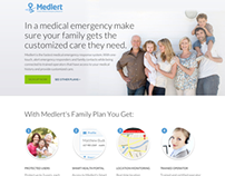 Medlert | Responsive Website Redesign