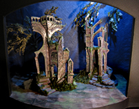 "Conceptual Scenic Design for""A Midsummer Night's Dream"""