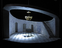 "Conceptual Scenic Design for ""Much Ado About Nothing"""