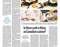 Is there such a thing as Canadian cuisine?