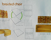 Braided Chair (Maquette Echelle 1 PVC)