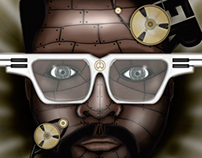 Will i am retro poster