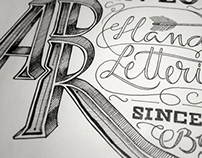 In love with hand-lettering
