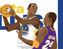 NBA: Monta vs Kobe
