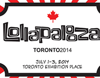 Lollapalooza Brochure and Poster