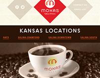 Mokas Bakery & Bistro Website