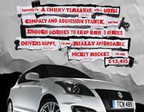 Suzuki Swift Sport Lauch Campaign DPS