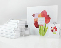 Scented Floral Journal Collection