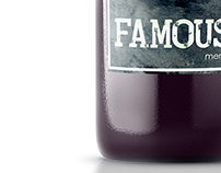 Famous wine label design