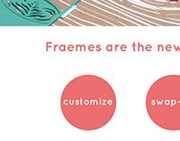 Fraemes Website Design