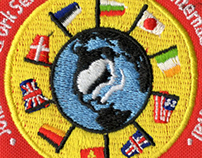 GS International Festival Patch Design