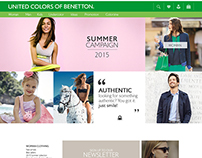 Benetton / Website Proposal